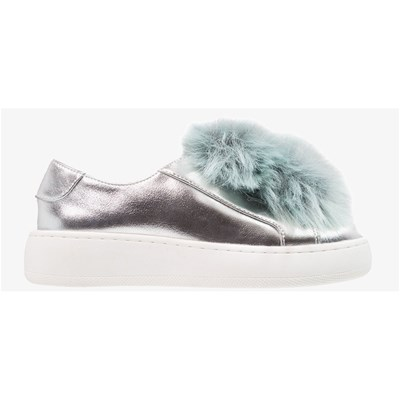 Steve Madden BREEZE LOW SNEAKERS SILBERFARBEN