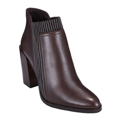 What For LAPACHO BOTTINES EN CUIR BRUN