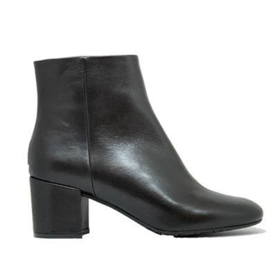 Ann Tuil MASK BOTTINES EN CUIR NOIR Chaussure France_v17989