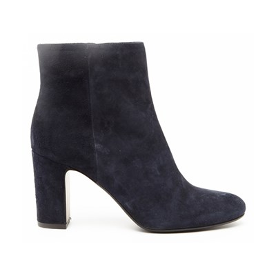 Ann Tuil MARACA BOTTINES EN VELOURS BLEU Chaussure France_v17984