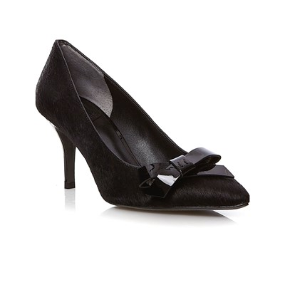 What For PUMPS AUS LEDER SCHWARZ