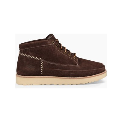 Ugg CAMPFIRE BOOTS EN CUIR MARRON Chaussure France_v11182