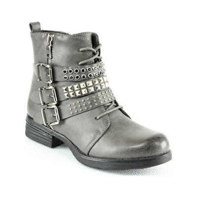 Chaussures Femme | Sixth Sens BOOTS GRIS