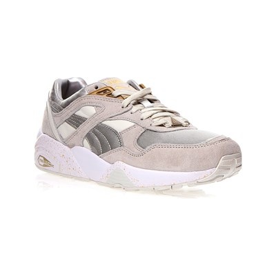 Puma R698 TECH2 BASKETS BASSES BLANC