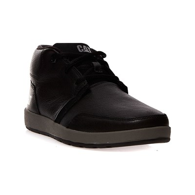 Caterpillar CRUZ FLEECE BOOTS EN CUIR NOIR