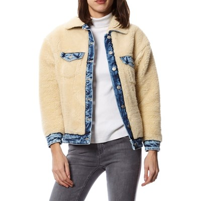 Pepe Jeans London ESTHER GIACCA BIANCO