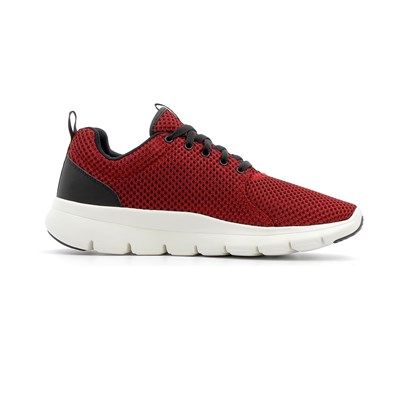 Skechers DEPTH CHARGE EADDY BASKETS BASSES ROUGE Chaussure France_v8090