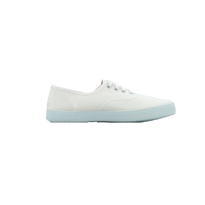 Chaussures Femme | Victoria INGLES LONA BASKETS BASSES BLANC