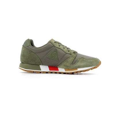 Le Coq Sportif OMEGA CRAFT BASKETS MONTANTES KAKI Chaussure France_v13128