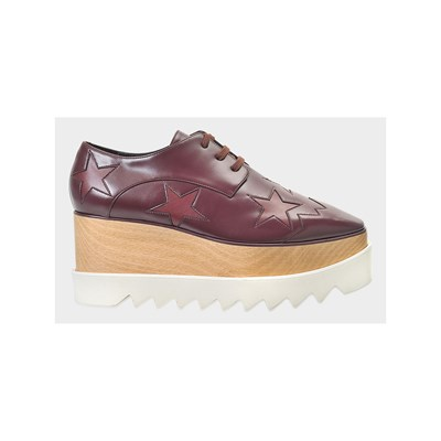 Stella McCartney ELYSE DERBIES WEINROT