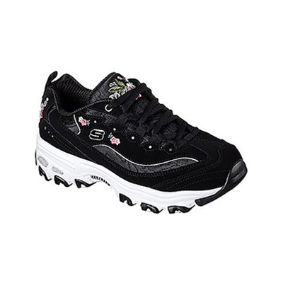 Skechers D'LITES BASKETS BASSES NOIR Chaussure France_v5158