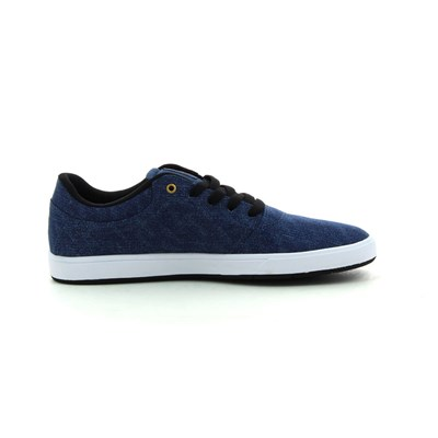 DC Shoes CRISIS TX BASKETS BASSES BLEU