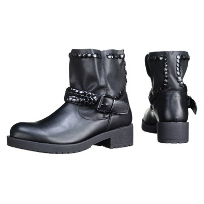 C M 1720-2 BOTTINES NOIR
