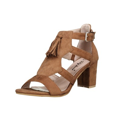 Lily Shoes 618 SANDALES MARRON CLAIR