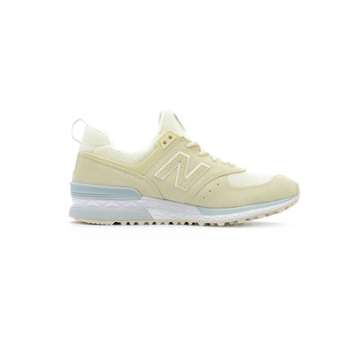 New Balance 574 SPORT BASKETS BASSES BEIGE Chaussure France_v10204