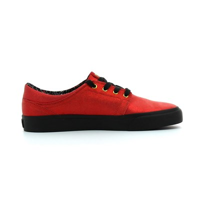 Chaussures Femme | DC Shoes TRASE X TR BASKETS BASSES ROUGE