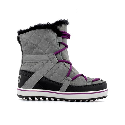 Sorel GLACY EXPLORER SHORTIE BOTTES GRIS Chaussure France_v15580
