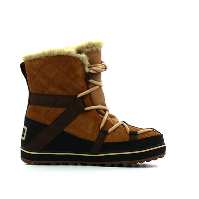 Sorel GLACY EXPLORER SHORTIE BOTTES MARRON Chaussure France_v15581