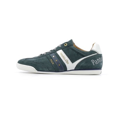 Chaussures Homme | Pantofola d'Oro VASTO SUEDE UOMO LOW BASKETS BASSES BLEU MARINE