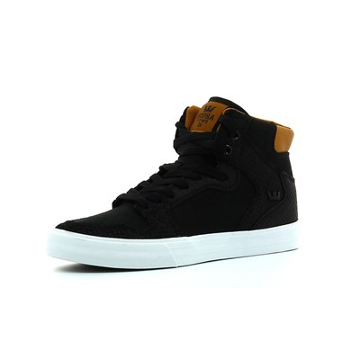 Supra VAIDER BASKETS MONTANTES NOIR Chaussure France_v6004