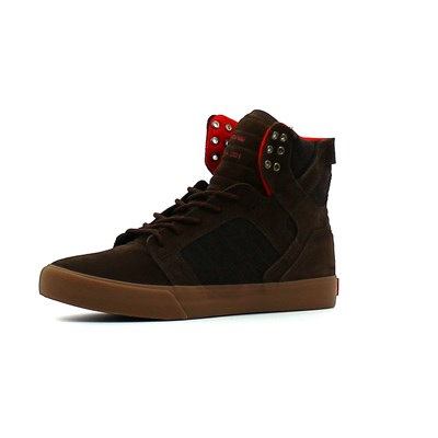 Supra SKYTOP BASKETS MONTANTES MARRON