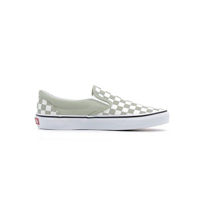 Vans SLIP ON CLASSIC BASKETS BASSES VERT Chaussure France_v10158