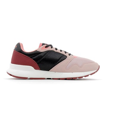 Le Coq Sportif OMEGA X W MESH BASKETS BASSES ROSE Chaussure France_v9501