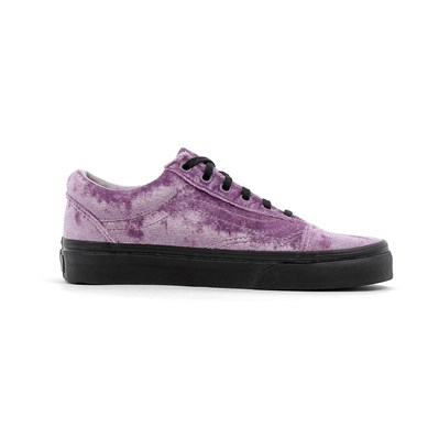 Chaussures Femme | Vans OLD SKOOL PEANUTS BASKETS BASSES VIOLET