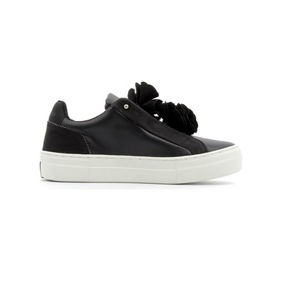 Skechers ALBA BLOOMN CABELLO BASKETS BASSES NOIR