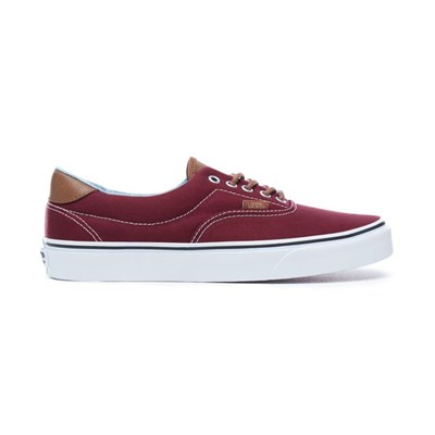 Vans UA ERA 59 BASKETS BASSES BORDEAUX Chaussure France_v11329
