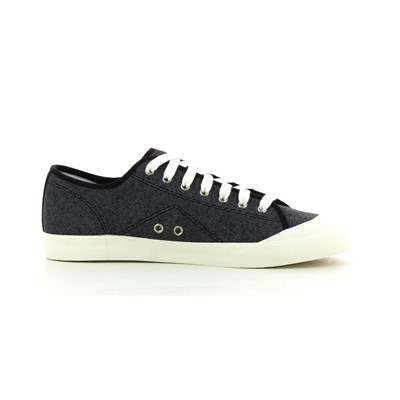 Le Coq Sportif ESTORIL PIQUE BASKETS BASSES NOIR