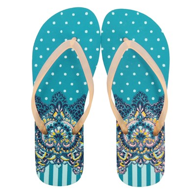 O'Neill MOYA TWO FLIP-FLOPS TONGS BLEU Chaussure France_v626