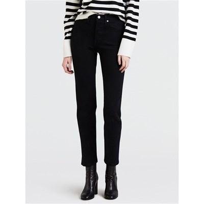 Levi's WEDGIE JEANS DRITTO NERO