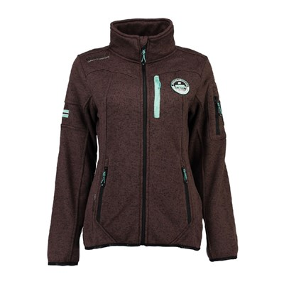 Geographical Norway GIACCA PILE MARRONE