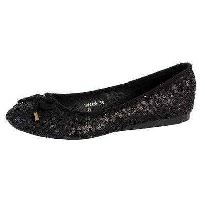 The Divine Factory BALLERINES NOIR Chaussure France_v665