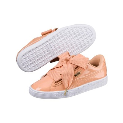 Puma LOW SNEAKERS LACHSFARBEN