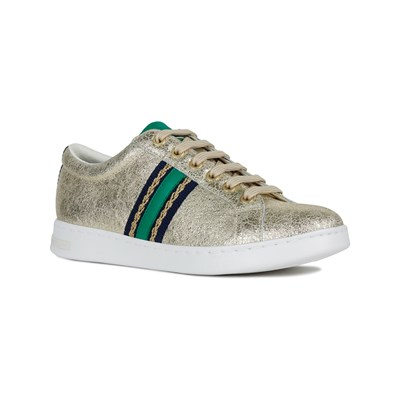Geox JAYSEN LOW SNEAKERS GOLDFARBEN
