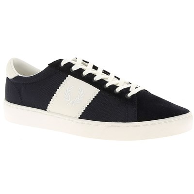 Fred Perry BASKETS BASSES BLEU MARINE Chaussure France_v14820