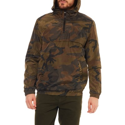 Only & sons GIACCA A VENTO VERDE MILITARE