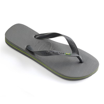 Havaianas BRASIL LOGO TONGS GRIS Chaussure France_v1581