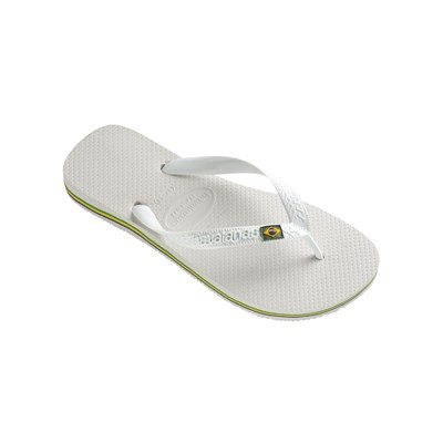Havaianas BRAZIL TONGS BLANC Chaussure France_v663