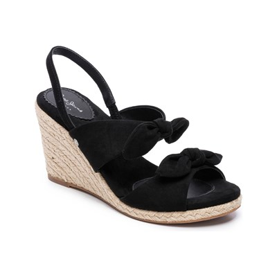 Pepe Jeans Footwear SHARK HONEY WEDGES SCHWARZ