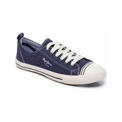 Pepe Jeans Footwear GERY BASS LOW SNEAKERS BLAU