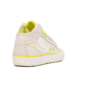 Baskets Footwear Industry Montantes 3010369 Synthétique Ecru Neon Pepe Jeans Iv7wqwC