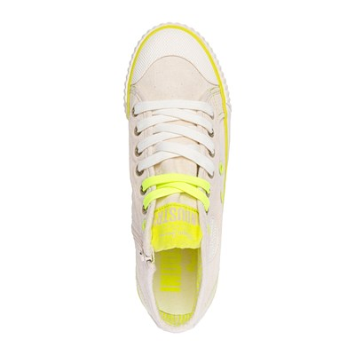 Neon Jeans Pepe Footwear Synthétique Montantes 3010369 Baskets Ecru Industry nAwfqxw4