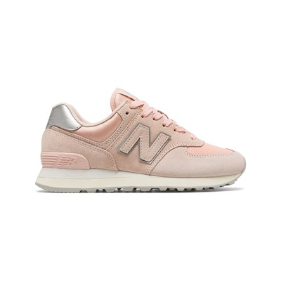 New Balance WL574 LOW SNEAKERS PUDER