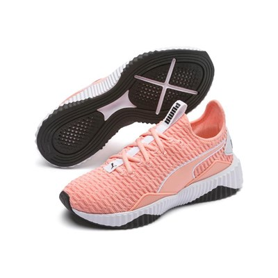 Puma Basses Defy Baskets 3006788 Saumon Synthétique wwrBEq