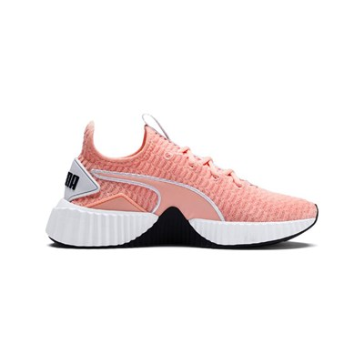 Puma 3006788 Saumon Synthétique Basses Baskets Defy TnRqrWT7x