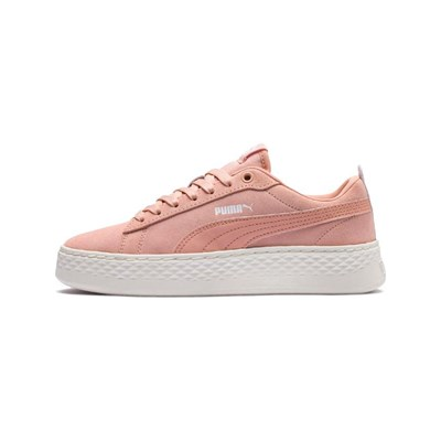 Puma SMASH PLATF LOW SNEAKERS KORALLENFARBEN
