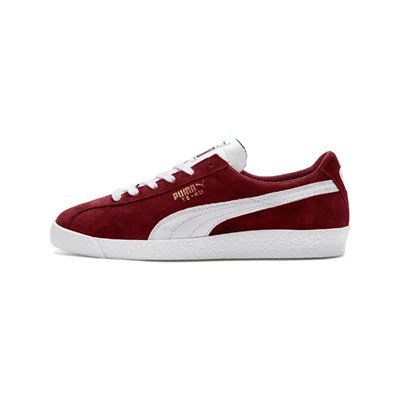 Puma TE-KU PRIME SNEAKERS IN PELLE BORDEAUX
